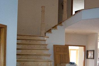 Hardwood Stairs U0026 Iron Balusters